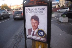 Nesrovnal - kampaň do VÚC 2013