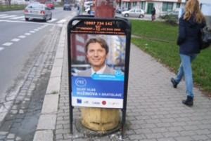Nesrovnal - kampaň do mesta 2010